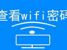简单一招查看手机已经连接的wifi密码或共享该网络